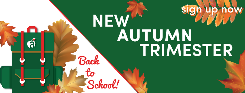 new autumn trimester